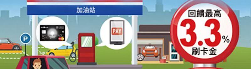 中油直營/台亞/台糖加油站刷台新卡‧加油回饋最高3.3%刷卡金