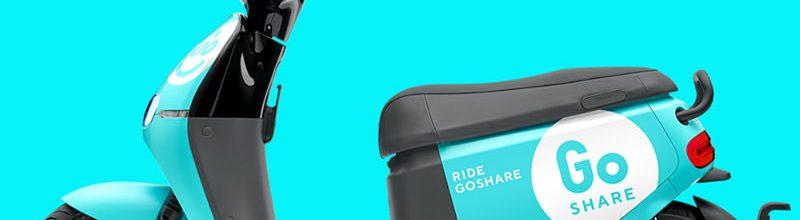 GoShare 共享電動車租借促銷折扣‧Gogoro 電動機車租賃回饋方案