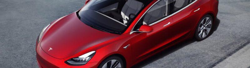 Tesla Model 3 售價規格表‧特斯拉電動車加速度/電池續航力